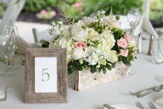 centre de table floral pour mariage