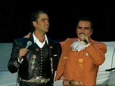 Vicente Fernández, Alejandro Fernández - Amor De Los Dos (En Vivo) Spanish Music, Violin Music, Musica Popular, Mexican Artists, Rare Photos, Good Music, All About Time, Music Videos, At Least