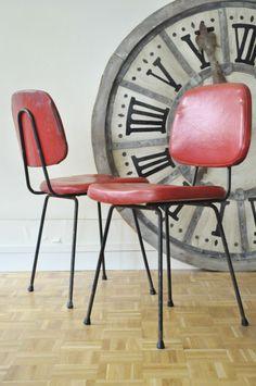 Chaises 60's