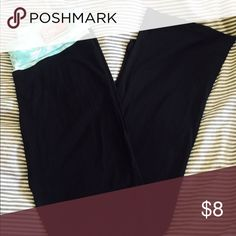 Yoga pants Brand new with tags. Super comfy lightweight cotton material. Womens size L but fits more like size M. Sorry no trades. Pants Track Pants & Joggers