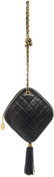 Chanel Diamond Shape Bag - Lyst