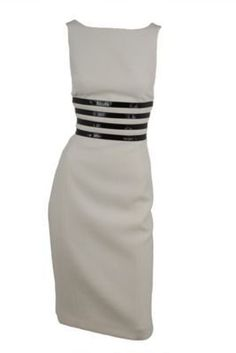 Michael Kors Dress  I'm obsessed with black & white stripes!