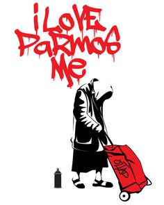 I Love Parmos Me by OLTAD limited and open edition prints