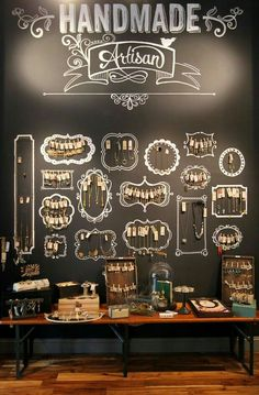 Love this idea, can't find the original source for credit to link to though. #artisan #jewellery #jewellerydisplay
