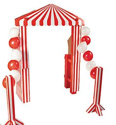 carnival props,circus party,backdrops,standees,large party props - Jilly Bean Kids jillybeankids.com
