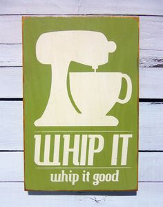 Kitchen+Art+Wall+Decor+Whip+It+in+White+Typography+by+13pumpkins,+$45.00