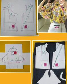 Enchanting Sewing Patterns Clone Your Clothes Ideas Dress Sewing Patterns, Blouse Patterns, Clothing Patterns, Costura Fashion, Sewing Collars, Sewing Sleeves, Bodice Pattern, Sewing Blouses, Fashion Sewing