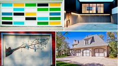 Your garage doors could be so much more than painted metal protecting your car. We hunted down some of the more glamorous designs we've seen in years.