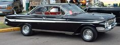 1961 Chevy Impala Bubble Top 350 V8/TH350 & Chromed Steel wheels