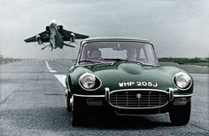1971–1975 | Jaguar E-Type (III-Series) Fixed Head Coupe and SUPECAT Jaguar Fighter