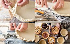 20 formas de Decoración de los bordes de las  tartas