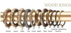 Rings for Design Art wood poles
