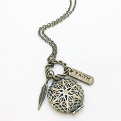 LOCKET Diffuser Necklace ~ Essential Oil  ~ Aromatherapy ~ Customize ~ 10 Different Charm Options by DropsofSunshineCo on Etsy https://www.etsy.com/listing/481784610/locket-diffuser-necklace-essential-oil