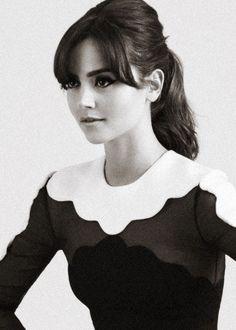 Jenna Louise Coleman Glamour UK (11/2013)