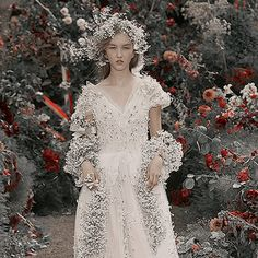 Rodarte Spring 2018 Bohemian Style, Boho, Anniversary Parties, Little Red, Daily Fashion, Ball Gowns, Wedding Inspiration, Bride, Princess