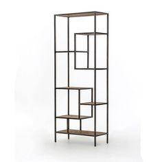 Reclaimed Pine 84-inch Bookcase | Overstock.com Shopping - The Best Deals on Media/Bookshelves