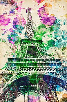Eiffel tower by Sebastien Coell