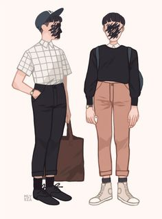 mel tow's portfolio-Outfits on Behance
