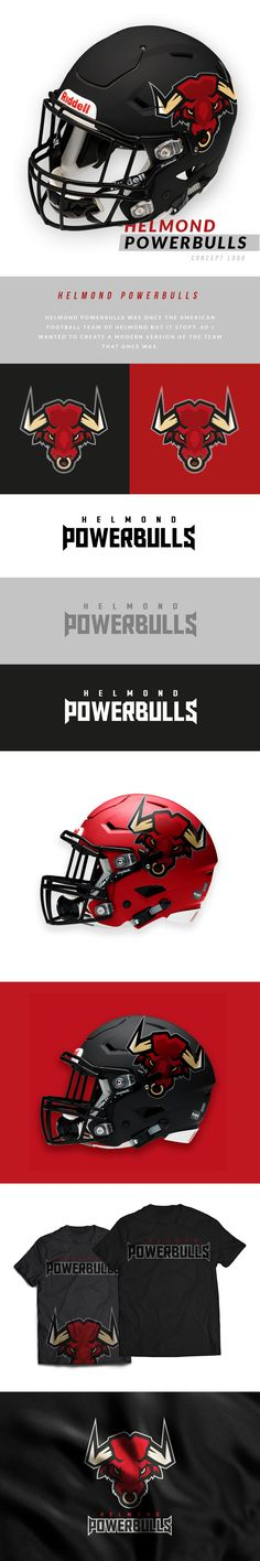 Helmond Powerbulls Concept on Behance