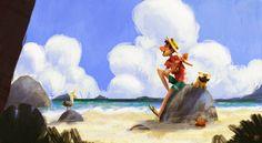 ArtStation - Song of The beach, Gop Gap