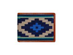 Gaucho Needlepoint Bi-Fold Wallet | Smathers & Branson