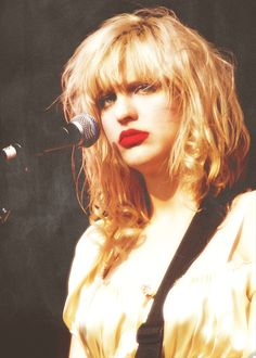 Courtney Love may have had her issues, but what a musician she is! #grunge #cobain