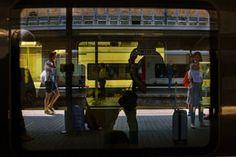 BELGIUM. Bruxelles Midi railwaystation. 2015.