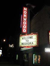 Norwood Theatre, Bracebridge, Ontario - Now Playing / Movies