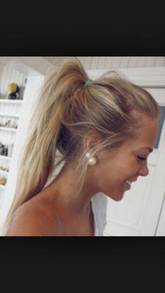 Natural blonde hair. Tan skin. Favorite.