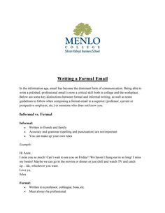 30+ Professional Email Examples & Format Templates ᐅ TemplateLab Professional Email Example, Professional Email Templates, Information Age, Forms Of Communication, Informational Writing, Business School, Workplace, Formal, Words