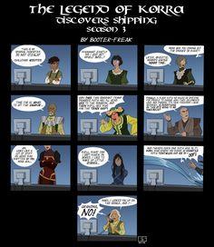 Avatar: LOK Discovers Shipping Season 3 by Booter-Freak.deviantart.com on @deviantART