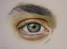 60 Beautiful and Realistic Pencil Drawings of Eyes | Read full article: http://webneel.com/40-beautiful-and-realistic-pencil-drawings-human-eyes | more http://webneel.com/daily | Follow us www.pinterest.com/webneel