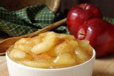 Apples, No Pie, a la Mode #Healthy #Dessert #Recipe Use Splenda & sugar-free ice cream!