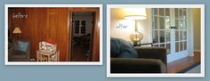Paint in my Hair: Family Room Before and After