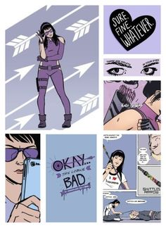 """Kate Bishop"" by ameve ❤ liked on Polyvore featuring art"