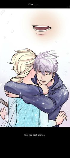 Jack: Elsa.......See you next winter