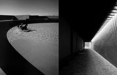 Tom Ford's ranch in Santa Fe, New Mexico by renowned Japanese architect Tadao Ando. Photographs by Guido Mocafico. Via Hovercraft Doggy.