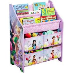 @Overstock - The Disney Fairies Book and Toy Organizer are very useful in keeping all the toys and books of your little ones organized. This Tinkerbell storage organizer will fit into any room of your home.http://www.overstock.com/Home-Garden/Disney-Tinker-Bell-Fairies-Book-and-Toy-Organizer/6677472/product.html?CID=214117 $36.99