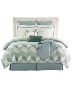 CLOSEOUT! Brighton 10 Piece Comforter Sets - Bed in a Bag - Bed & Bath - Macy's