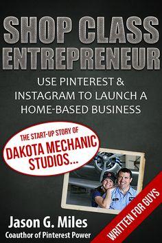 Start a business using Pinterest and Instagram - a new bonus chapter for buying www.pinterestpower.com available November 1st, 2012.