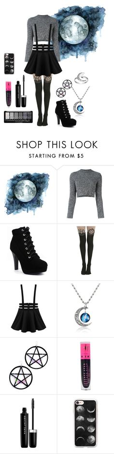 Moon by artemis0114 on Polyvore featuring Carven, Marina Fini, Primrose, Casetify, Marc Jacobs and Jeffree Star