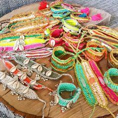 Crochet bracelets by MomMa jewelry, mix and match ❤