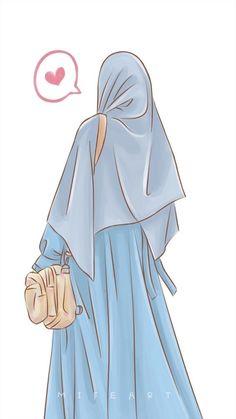 Arab Girls Hijab, Muslim Girls, Hijabi Girl, Girl Hijab, Beautiful Anime Girl, Beautiful Hijab, Muslim Pictures, Islamic Cartoon, Muslim Women Fashion