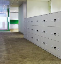 Project Yell Reading individuele lockers