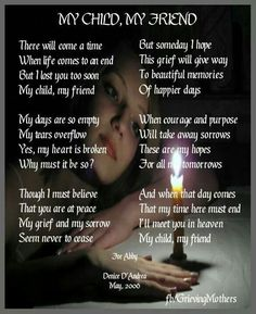 I love you my Son.... I miss you so much.