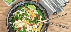 Rice Noodle Recipe Thai Style #vegetarianrecipe #vegetarian #noodles #thai #ricenoodles #thaifood