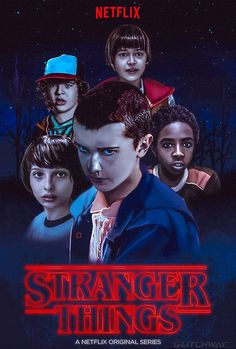 Alternative poster to Netflix's latest series, Stranger Things.