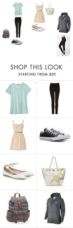 """""""For Madre"""" by grace-dxvii on Polyvore featuring Calypso St. Barth, Converse, Kim Rogers, Aéropostale, NIKE and adidas"""