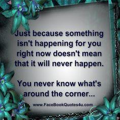 Life it happens