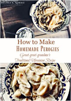 How to Make Perogies
